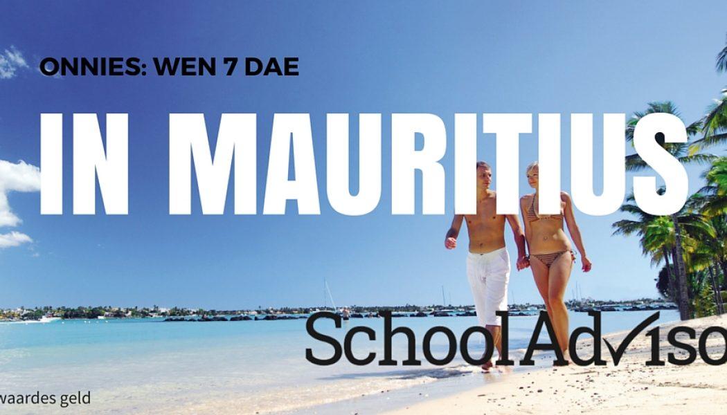 Wen 'n vakansie vir twee by die Le Mauricia Hotel in Mauritius, alles ingesluit.