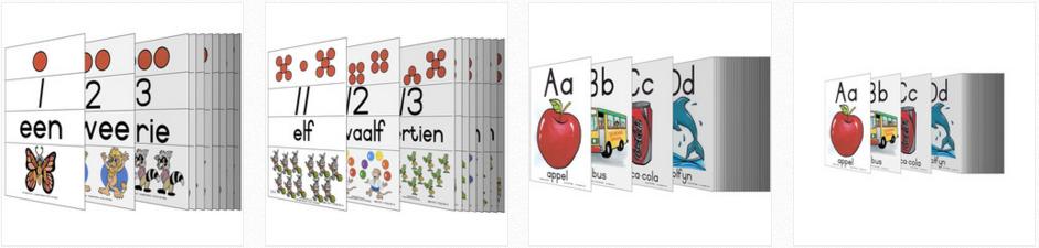 Flitskaarte vir die afrikaanse klaskamer